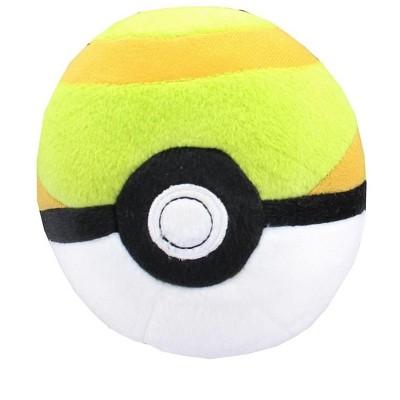 Tomy Pokemon Poke Ball 5-Inch Plush - Nest Ball