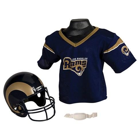 b2b173263ad Franklin Sports NFL Los Angeles Rams Helmet Jersey Set   Target