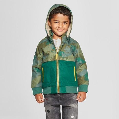 718c9e18 Genuine Kids® From Oshkosh Toddler Boys' Colorblack Jacket - Green ...
