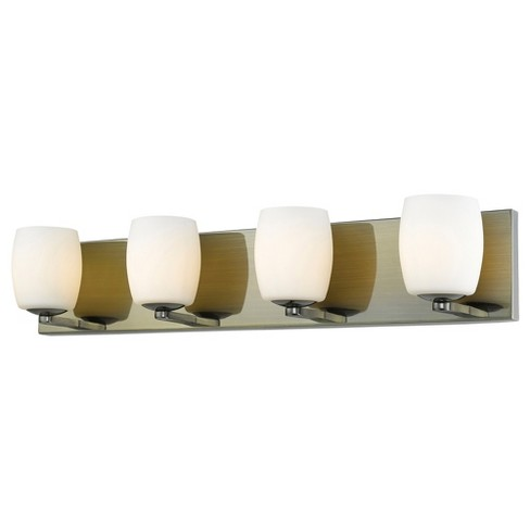 Access Lighting Serenity 4 Light Vanity Glass Shade - image 1 of 1