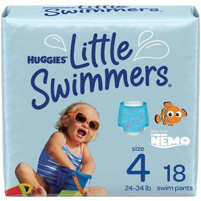 Huggies Little Swimmers Swim Diapers Size 4 Medium (18ct)