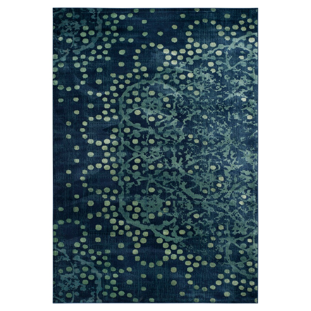 Constellation Vintage Rug - Blue/Multi - (8'10