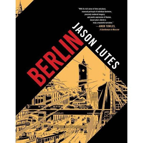 Berlin - by  Jason Lutes (Hardcover) - image 1 of 1