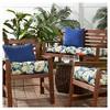 Marlow Floral Outdoor Seat Cushion - Kensington Garden - image 3 of 4