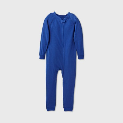 Toddler Adaptive Reversible Pajama Jumpsuit - Cat & Jack™ Navy