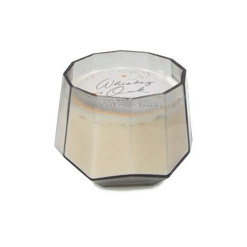 12oz Dodeca Glass Jar 3-Wick Candle Whiskey & Oak - Project 62™ - image 1 of 3