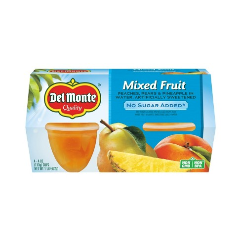Del Monte Mixed Fruit Cups - 4ct - image 1 of 3