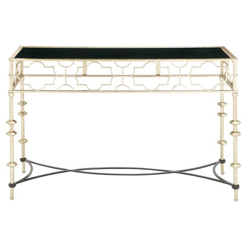 Console Table Light Gold - Benzara - image 1 of 1