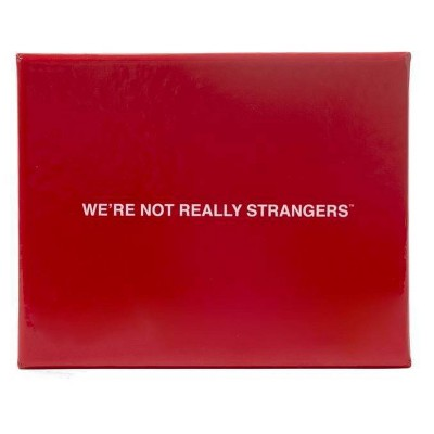 We're Not Really Strangers Game
