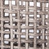 Manmade Rattan Outdoor Basket Gray - Threshold™ designed with Studio McGee - image 3 of 4