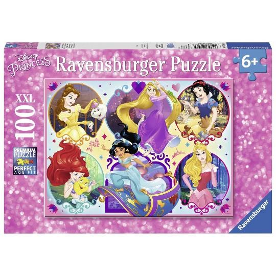 Ravensburger Princesses Puzzle 100pc, Kids Unisex image number null