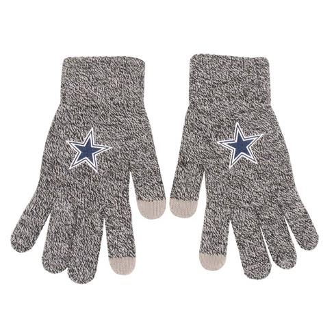 NFL Dallas Cowboys Gray Knit Glove - image 1 of 1