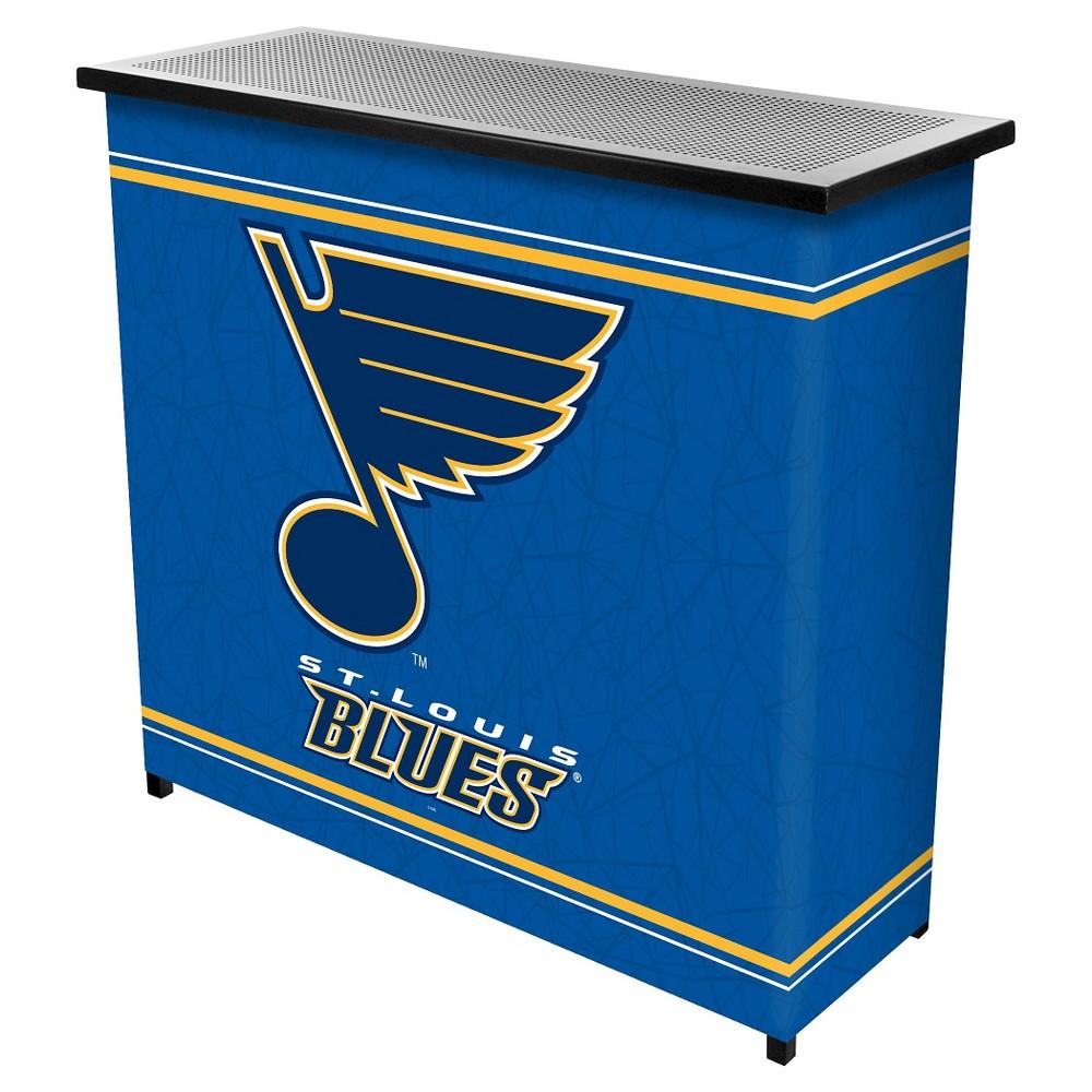 St. Louis Blues 2 Shelf Portable Bar with Case