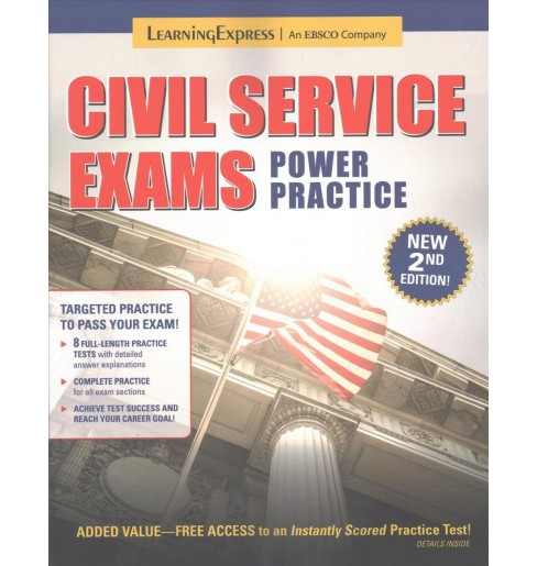 Civil Service Exams Power Practice -  (Power Practice) (Paperback) - image 1 of 1