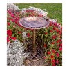 "30"" Tall Resin Bird Bath with Bird - Backyard Expressions - image 2 of 3"