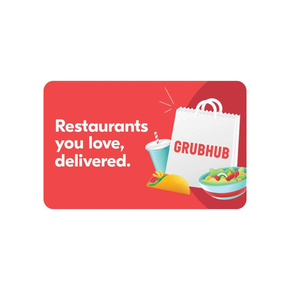 Grubhub Gift Card 25 Email Delivery