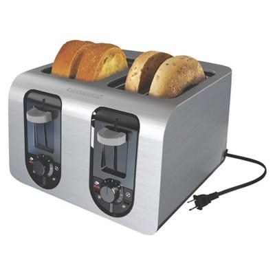 BLACK+DECKER™ 4 Slice Toaster - Stainless Steel