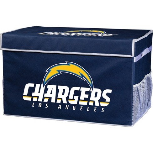 NFL Franklin Sports Los Angeles Chargers Collapsible Storage Footlocker Bins - image 1 of 5