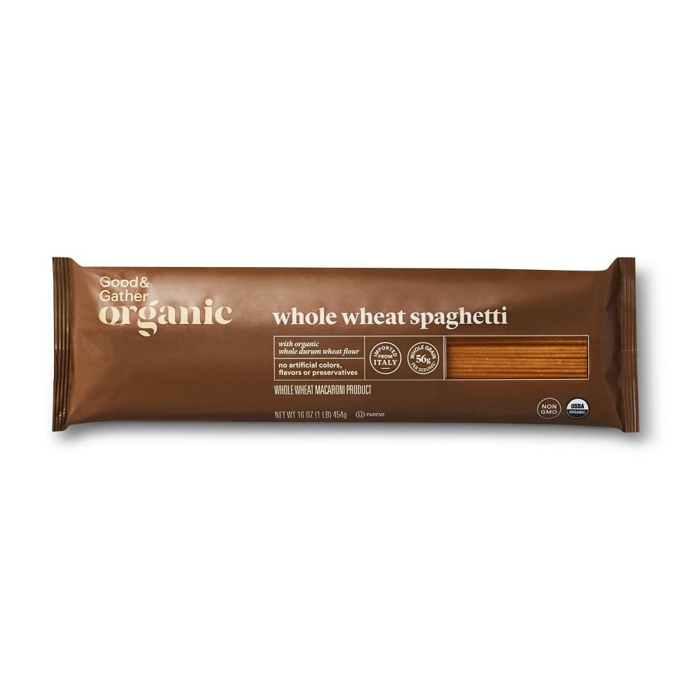 Organic Whole Wheat Spaghetti - 16oz - Good & Gather