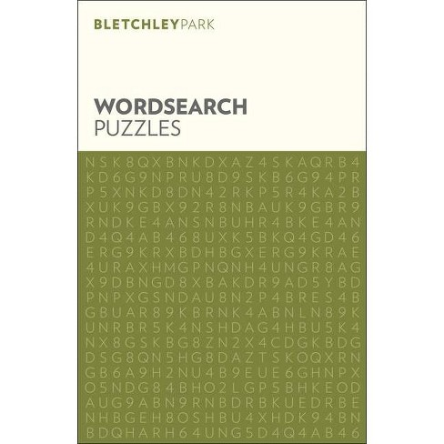 Bletchley Park Wordsearch Puzzles - (Bletchley Park Puzzles) by  Eric Saunders (Paperback) - image 1 of 1
