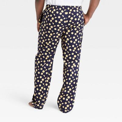 Men's Big & Tall Poplin Pajama Pants - Goodfellow & Co™ Xavier Navy