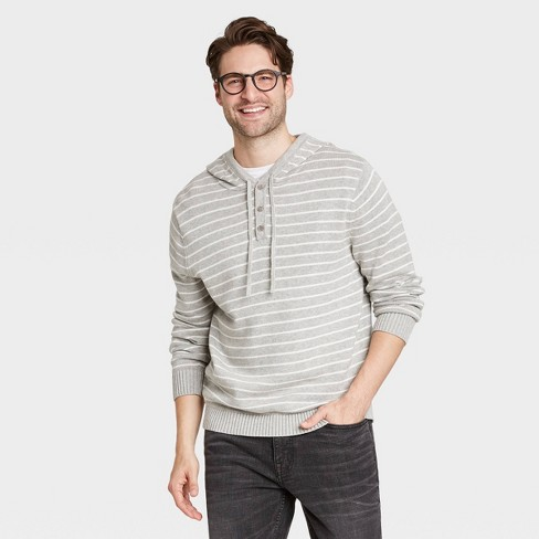 Men's Regular Fit Pullover Hoodie Sweater - Goodfellow & Co™ - image 1 of 3