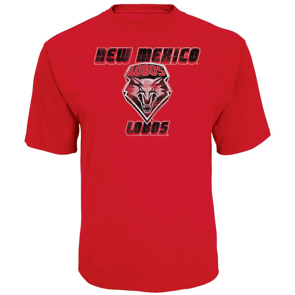 NCAA Men's Short Sleeve TC T-Shirt New Mexico Lobos - M, Multicolored