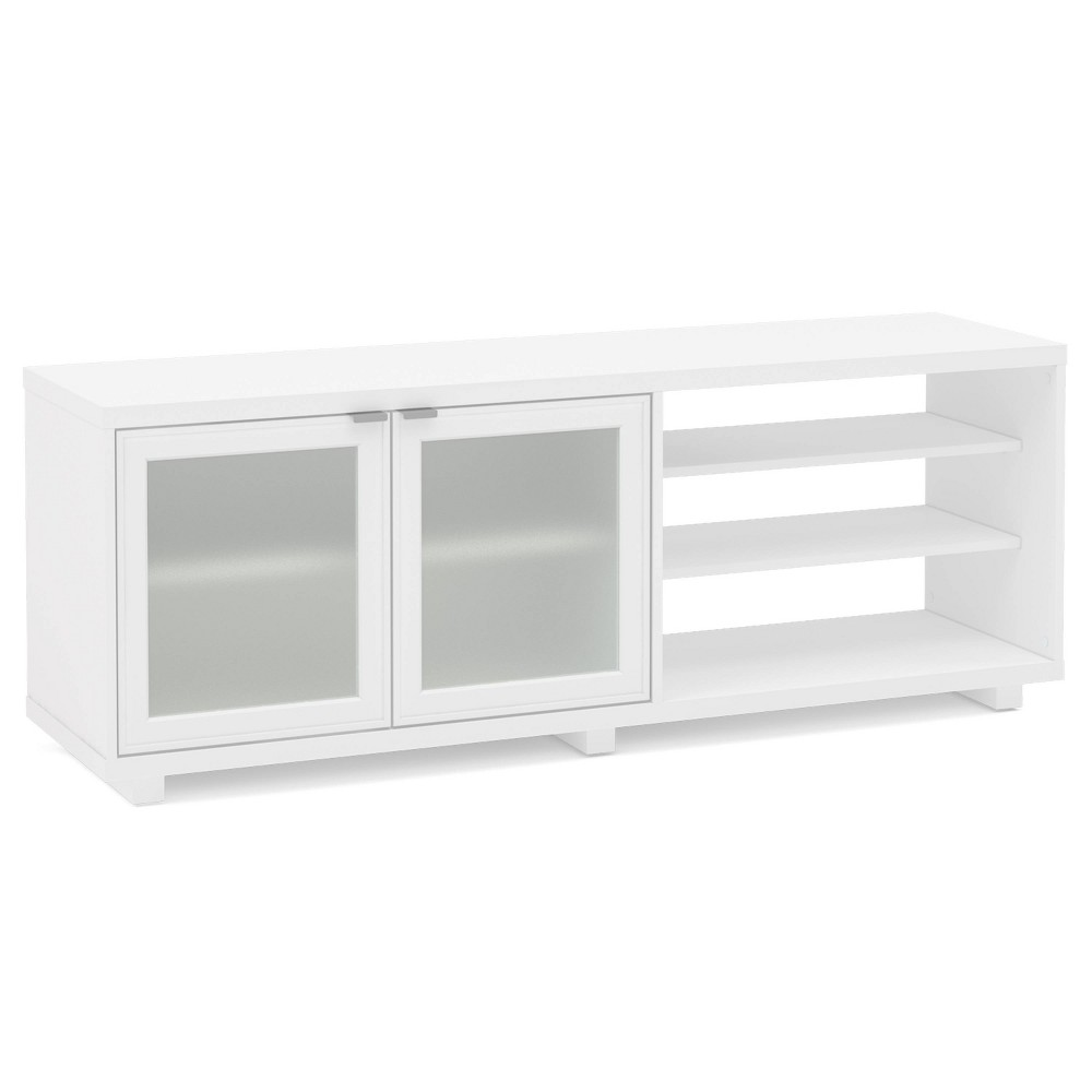 "Image of ""60"""" Austin TV Stand White - Chique"""