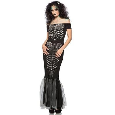 Skeleton Mermaid Adult Costume