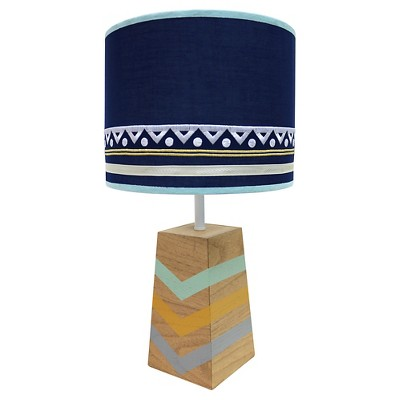 The Peanut Shell Decorative Lamp and Shade - Indio