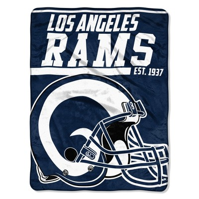 NFL Los Angeles Rams Micro Fleece Throw Blanket