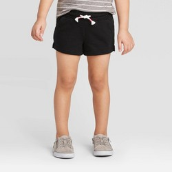 Toddler Girls' Knit Pull-On Shorts - Cat & Jack™