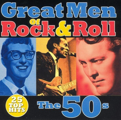 Various - Great men of rock & roll:50s (CD) - image 1 of 1
