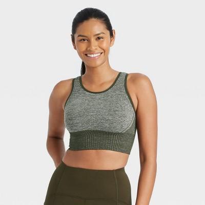 Women's Medium Support Longline Seamless Bra - All in Motion™