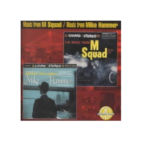 Original Soundtrack - Music from M Squad/Music from Mickey Spillane's Mike Hammer (OST) (CD) - image 1 of 1