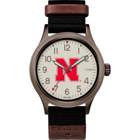 NCAA Nebraska Cornhuskers Tribute Collection Clutch Men's Watch - image 1 of 1