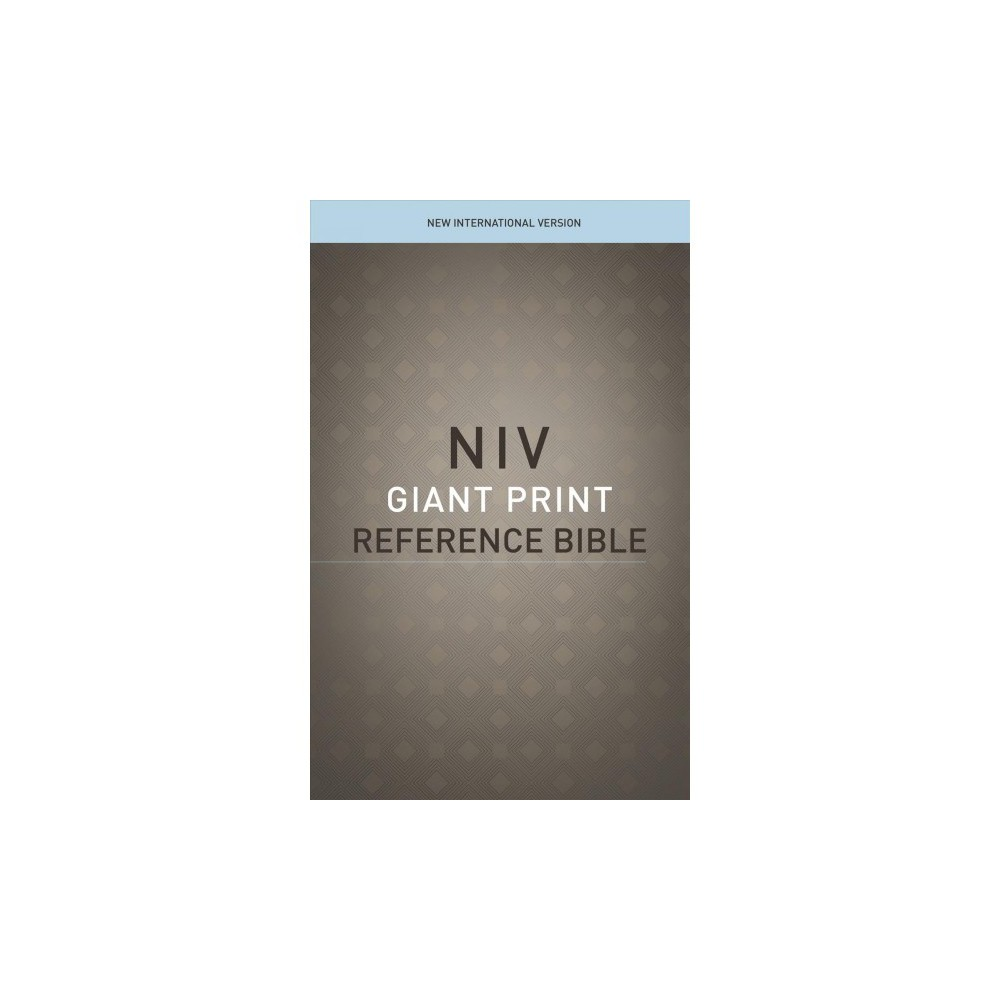 Holy Bible : New International Version, Giant Print, Reference Bible, Red Letter Edition, Comfort Print
