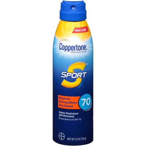 Coppertone Sport C Sunscreen Spray - SPF 70 - 5.5oz - image 1 of 2
