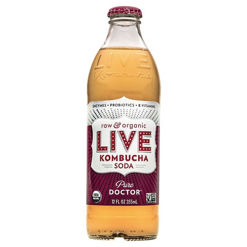 Live Soda Kombucha Pure Doctor 12oz - image 1 of 1