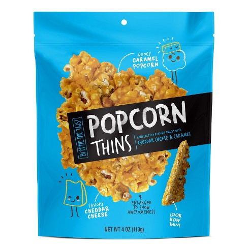 Popcorn Thins Cheddar Cheese & Caramel - 4oz - image 1 of 1