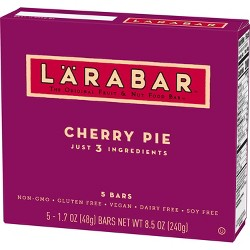Larabar Cherry Pie Energy Bars - 5ct
