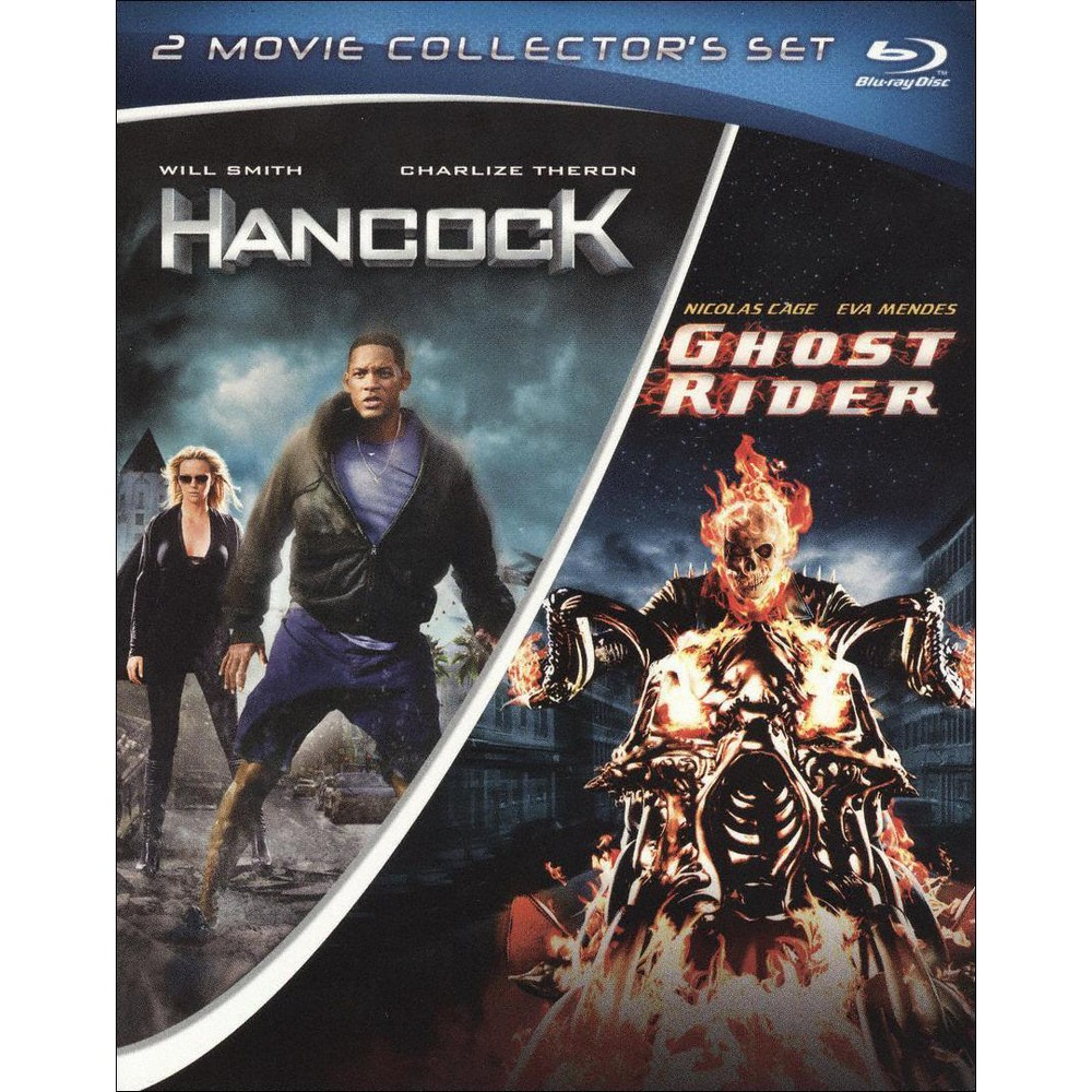 Hancock/Ghost Rider (2 Discs) (Blu-ray)