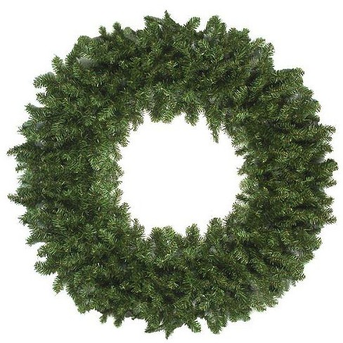 Target Christmas Commercial.Vickerman 10 Unlit Commercial Size Canadian Pine Artificial Christmas Wreath