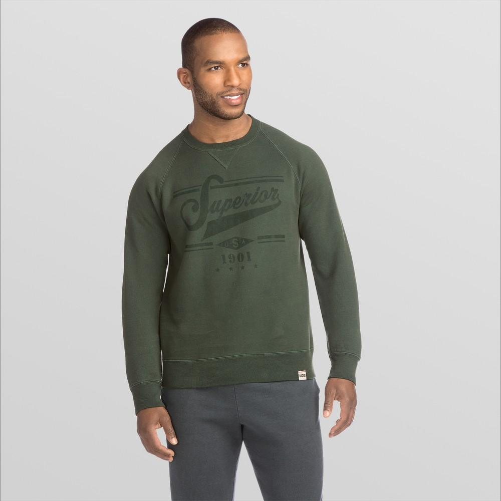 Hane 1901 Men Graphic V Notch Raglan Pullover weathirt