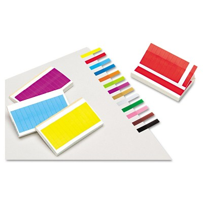 Redi-Tag Removable/Reusable Page Flags 13 Assorted Colors 240 Flags/Pack 20202
