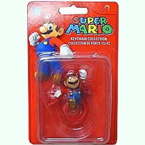 Super Mario Keychain Collection Series 2 Mario 2-Inch Keychain [Leaping] - image 1 of 1