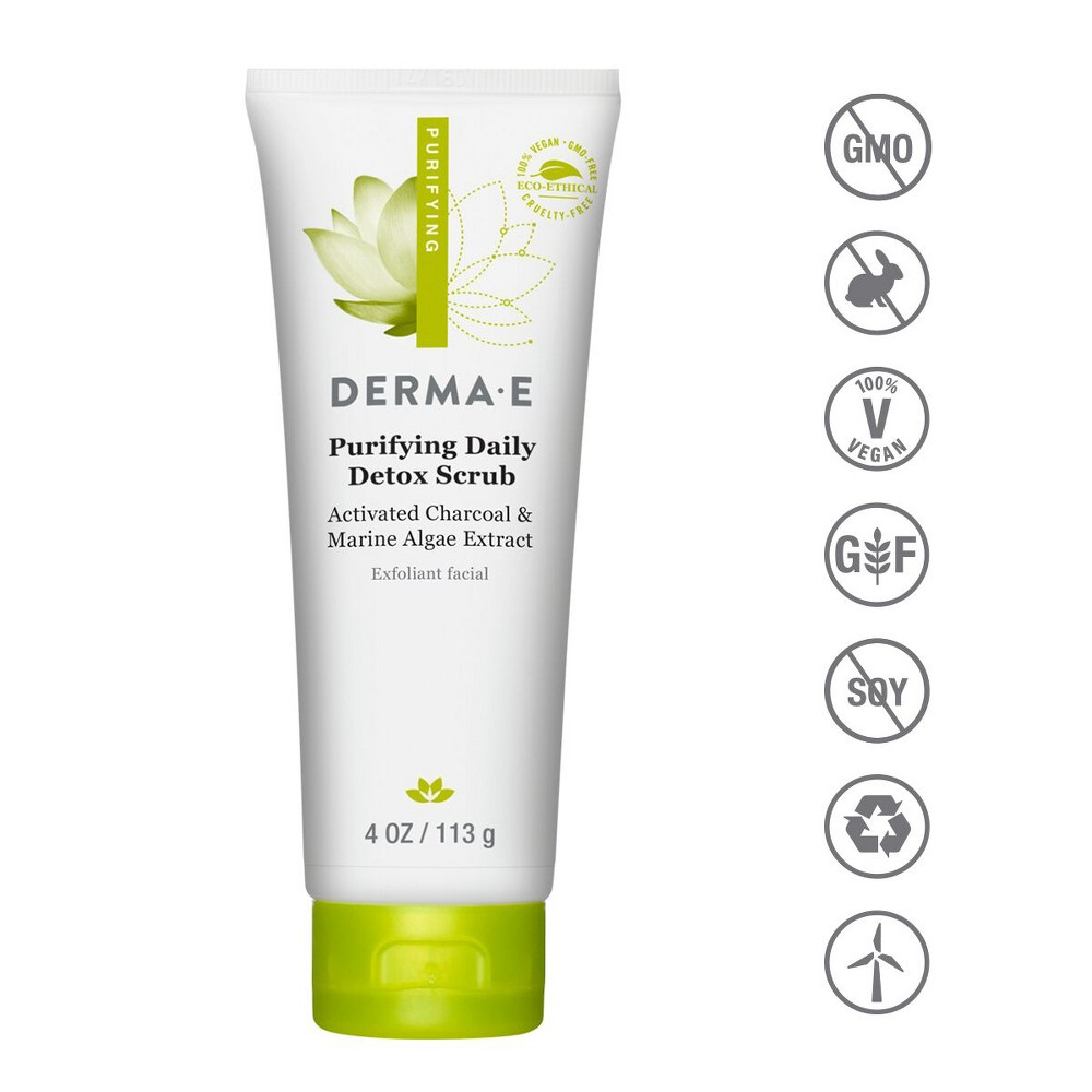 Image of DERMA E Purifying Day Scrub - 4oz