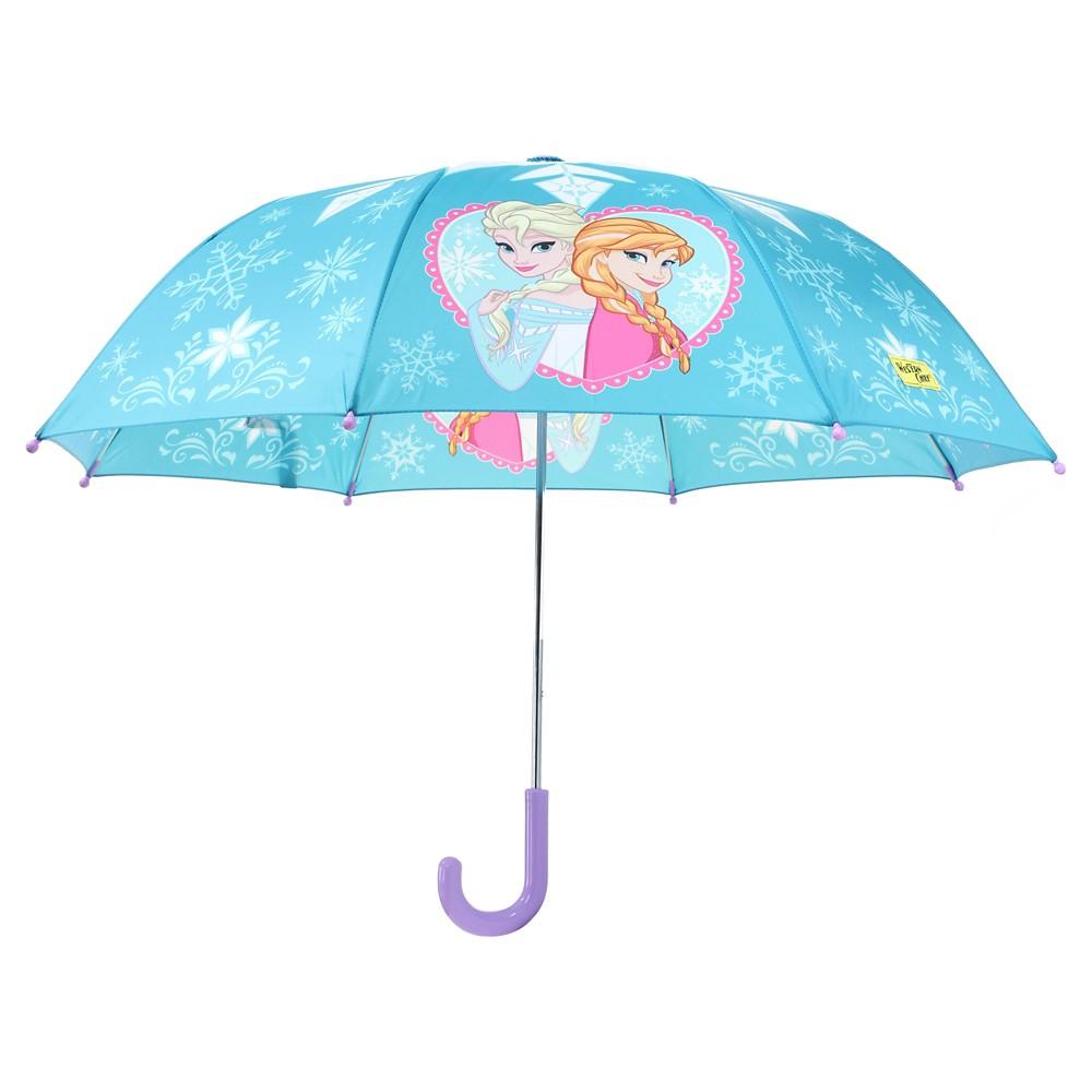 Toddler Girls' Frozen Anna & Elsa Umbrella - Blue
