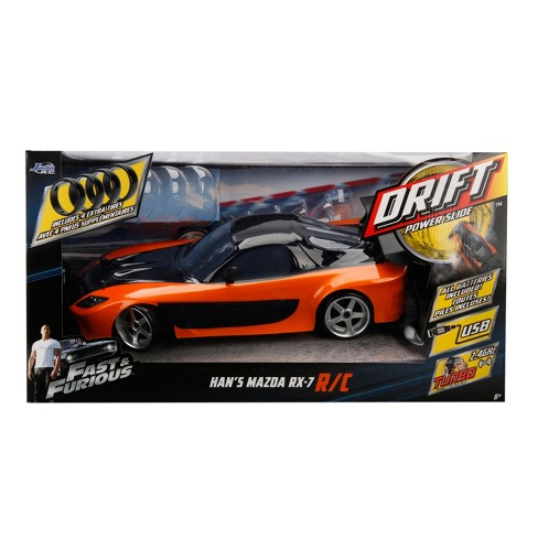 Fast and the Furious Drift Radio Control RC Vehicle - Mazda RX-7