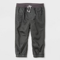 Baby Boys' Woven Pull-On Pants - Cat & Jack™ Gray